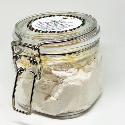 Almond Whipped Cream Scrub