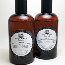 King Scalp & Body Oil Sample