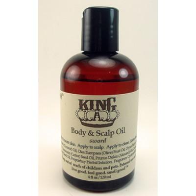 King Scalp & Body Oil Sample