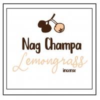 Nag Champa Lemongrass Incense Sticks