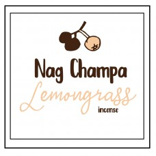Nag Champa Lemongrass Incense Sticks